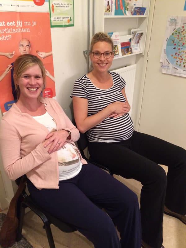 Opnieuw gelijk zwanger!