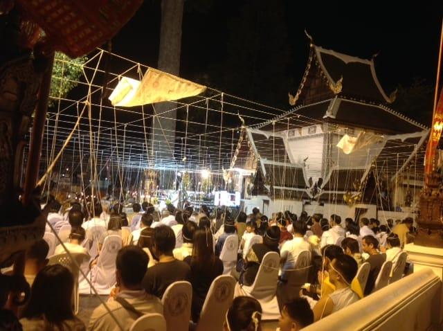 groepsmeditatie in Chiang Mai
