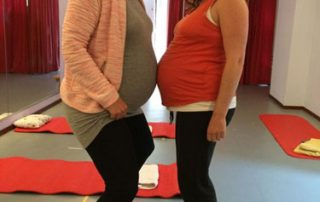 36 en 37 weken zwanger. Zwangerschapsyoga praktijk Noord