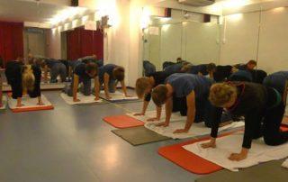 Zwangerschapsyoga in yogastudio Amsterdam Noord