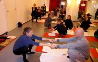 Partnerles zwangerschapsyoga praktijk Noord